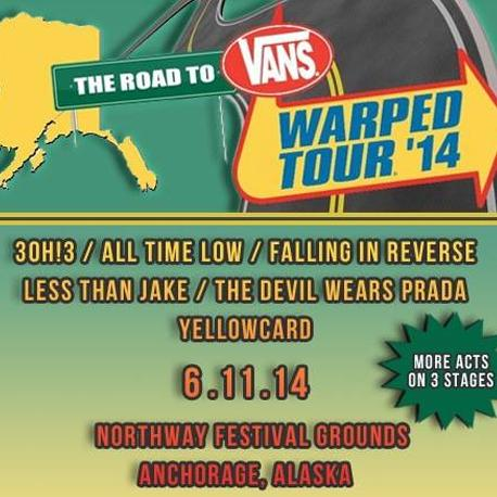 The Road to Warped Tour Alaska