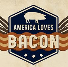 AMERICA LOVES BACON