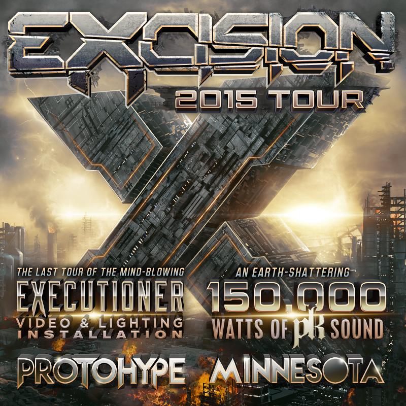 EXCISION TOUR