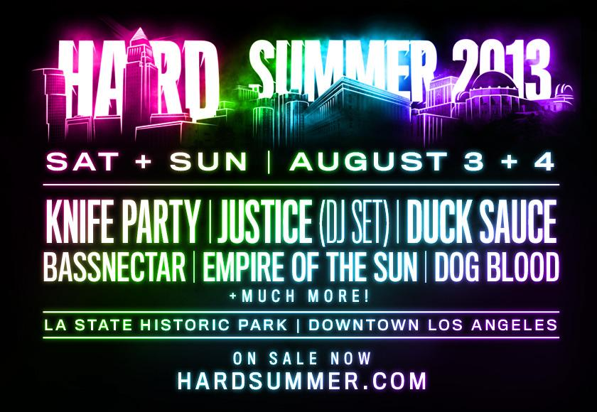Buy Hard Summer 2013 Tickets from Flavorus
