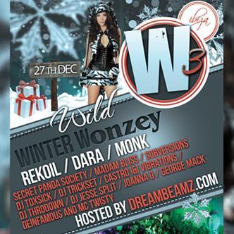 W3=WILD WINTER WONZEY IBIZA DC
