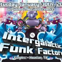 Intergalactic Funk Factory tickets