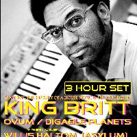 King Britt tickets