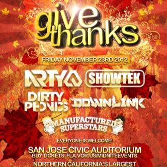 GIVE THANKS 2012: Main Image