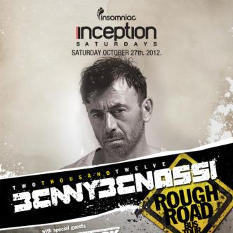 Benny Benassi Rough Road Tour: Main Image