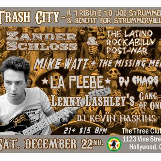 Joe Strummer Tribute & Benefit: Main Image
