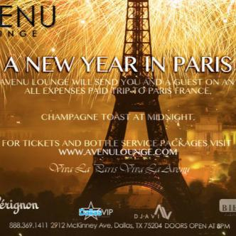 A NEW YEAR IN PARIS!!!: Main Image