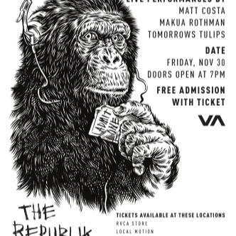 RVCA at The Republik: Main Image