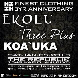Hawaii's Finest Clothing 3yr: Main Image