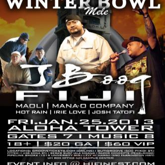 2013 WINTER BOWL MELE: Main Image