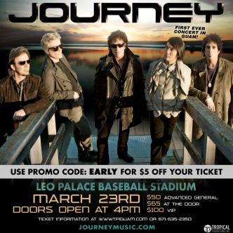 JOURNEY LIVE ON GUAM: Main Image