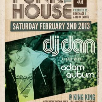 Funk The House w/ DJ DAN: Main Image