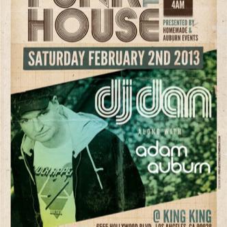 Funk The House w/ DJ DAN: Main Image