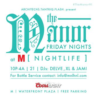 THE MANOR AT M [NIGHTLIFE]: Main Image