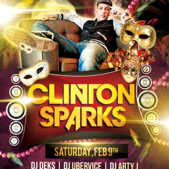 Party Gras w/ Clinton Sparks: Main Image