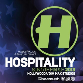Bassrush Presents: HOSPITALITY: Main Image