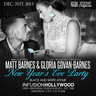 NYE: LAs Matt Barnes &Open Bar