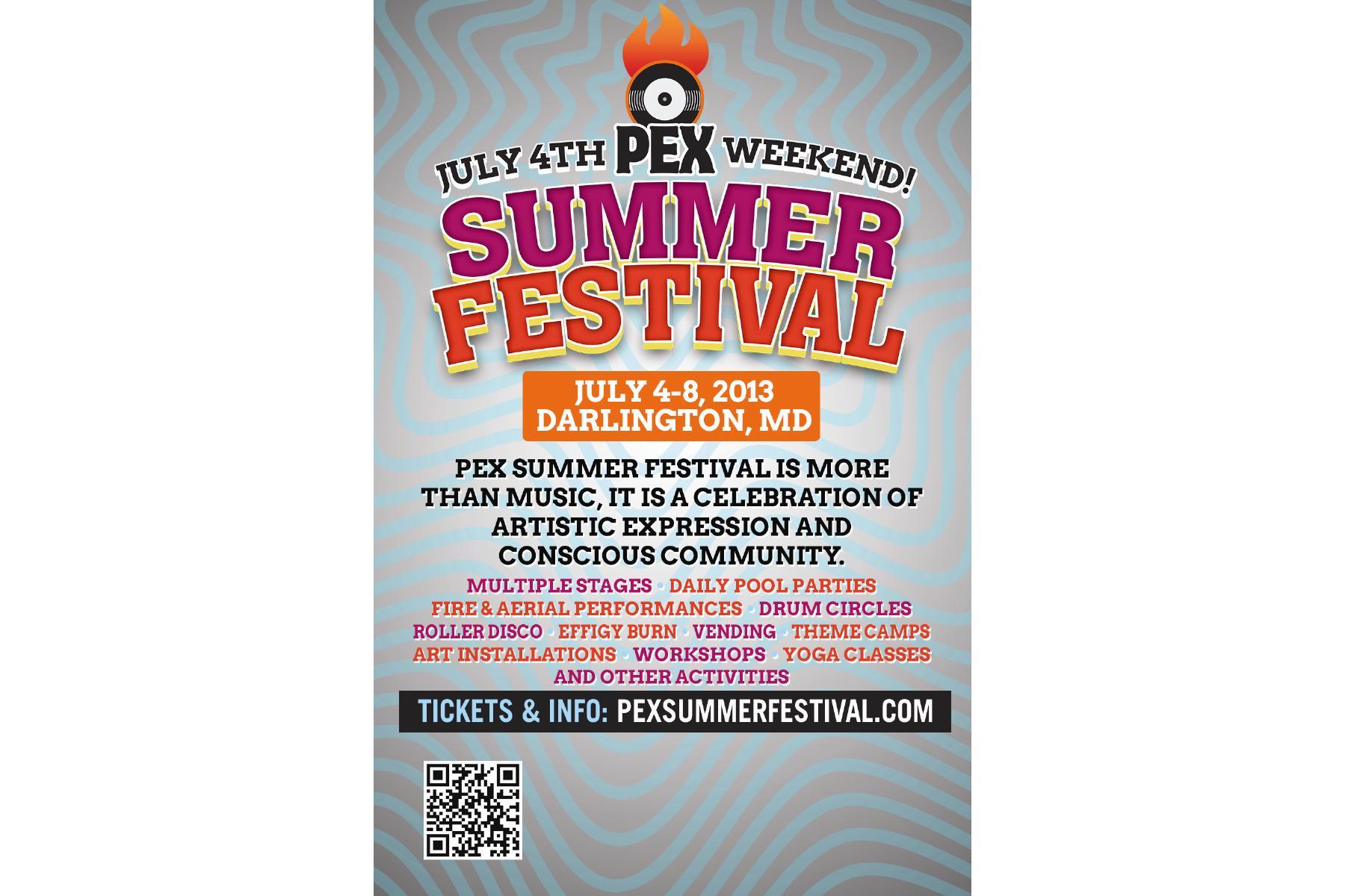 PEX Summer Festival 2013 Tickets