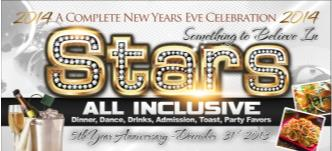 Stars All Inclusive New Year Eve