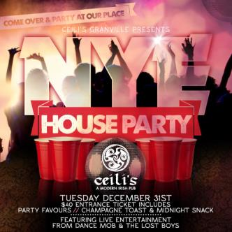 Ceilis NYE 2014 House Party
