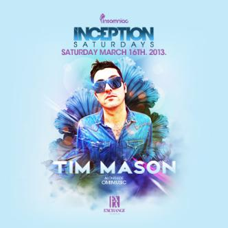 Inception ft. Tim Mason: Main Image