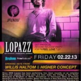 LOPAZZ@SUNSET ROOM: Main Image