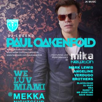 2013 WMC W/ PAUL OAKENFOLD: Main Image