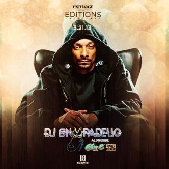 Editions ft. DJ Snoopadelic: Main Image