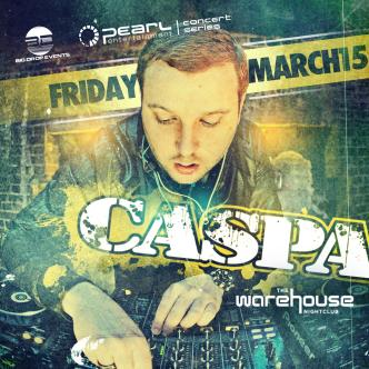 Caspa - March 15 -Warehouse: Main Image