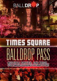 BallDrop Pass - Times Square