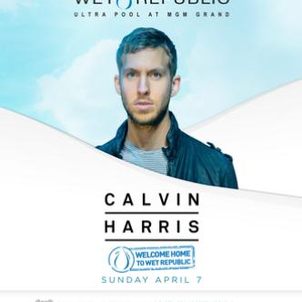 Pool Party w/ Calvin Harris: Main Image