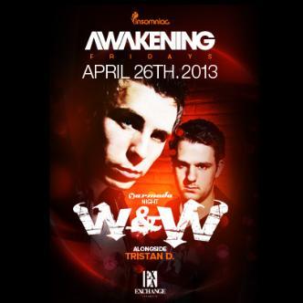 Awakening presents W&W: Main Image