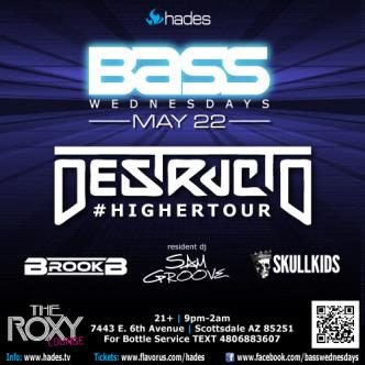 Bass Wednesdays fea/ Destructo: Main Image
