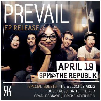 Prevail EP Release: Main Image