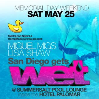 WET - San Diego - Miguel Migs: Main Image