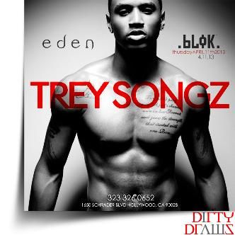 Trey Songz live at BLOK-EDEN: Main Image