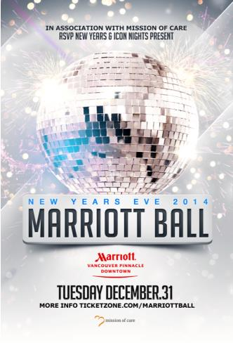 MARRIOTT NEW YEARS BALL  2014