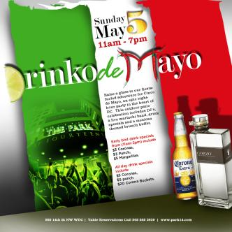 Drinko De Mayo @TheParkAt14th: Main Image