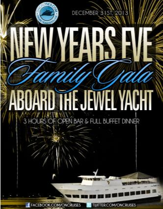 NYE Aboard the Jewel Yacht