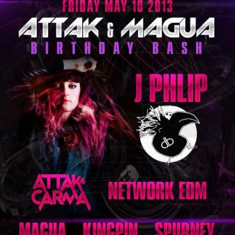 J. Phlip ATTAK and MAGUA BDAY: Main Image
