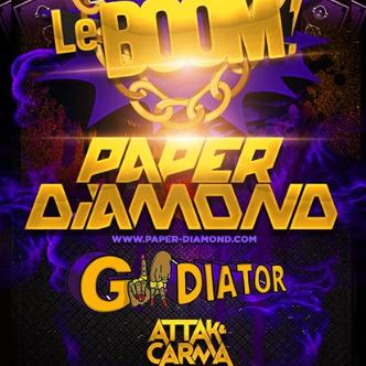 PAPER DIAMOND / GLADIATOR: Main Image