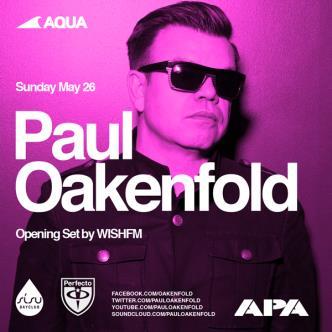AQUA + PAUL OAKENFOLD: Main Image