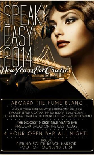 Speakeasy 2014 NYE Cruise