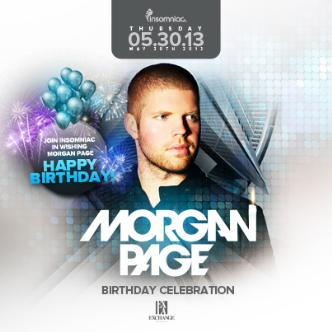 Morgan Page (Birthday Party): Main Image