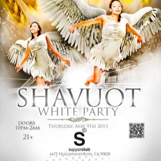 SHAVUOT WHITE PARTY: Main Image