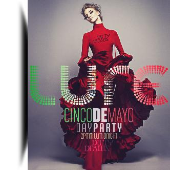 Cinco de Mayo DayParty at LURE: Main Image