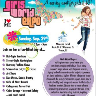 Girl World Expo New Jersey: Main Image