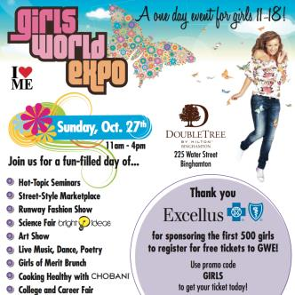 Girls World Expo Binghamton NY: Main Image