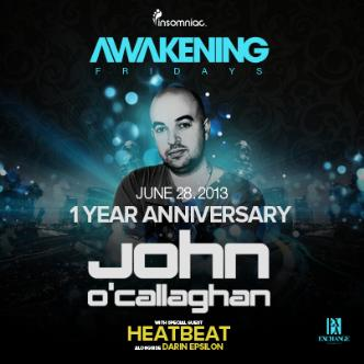 John O' Callaghan + Heatbeat: Main Image