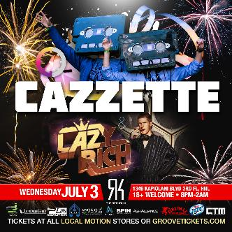 Cazzette with Lazy Rich: Main Image
